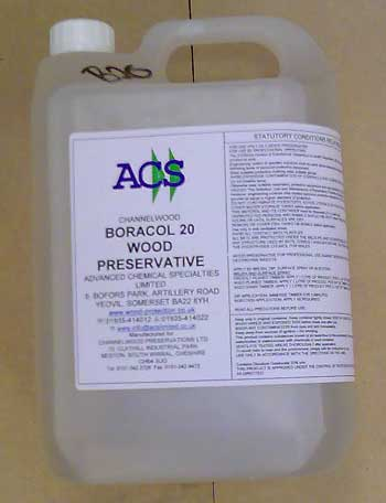 Boracol 5 litre for timber treatment
