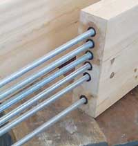 Timber-Resin splice Kit for Structural Timber Repair