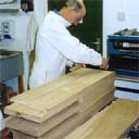 Laminating an Oak slotted beam